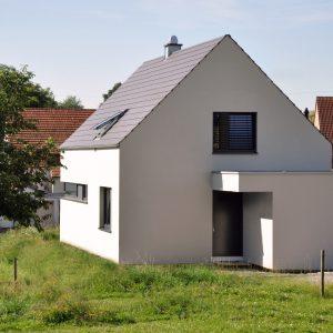 Petersberg: Neubau Einfamilienhaus Mit Carport In Marbach