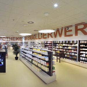 Emaillierwerk: Neubau Einer Apotheke Im EKZ Emaillierwerk Fulda