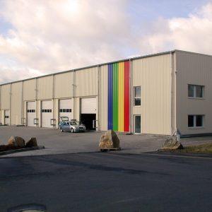 Wepler & Plappert: Neubau Lagerhallen In Eichenzell-Welkers