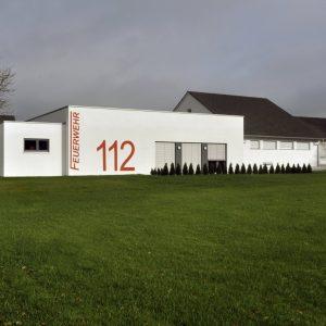 Wiesen: Neubau Feuerwehrhaus In Traisbach