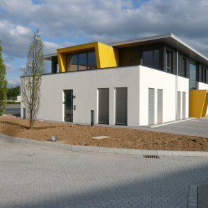 Wepler & Plappert: Neubau Bürogebäude Im Gewerbegebiet Eichenzell-Welkers
