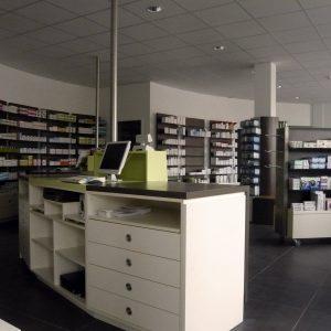 Medicum: Innenraumgestaltung Der Apotheke Im Medicum