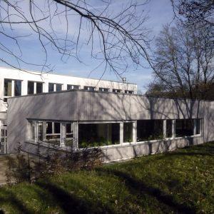 Freiherr-vom-Stein Gymnasium: Erweiterung Und Neugestaltung Mensa, Sanierung Block F