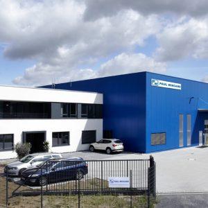 Paul Wiegand GmbH: Neubau Büro Und Lagerhalle