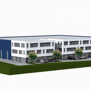 2019 - Eichenzell-Kerzell: Neubau Bürogebäude Und Lagerhallen