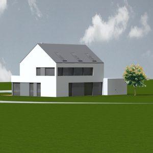 2019 - Künzell-Bachrain: Neubau Einfamilienhaus